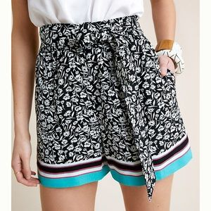 Anthro Patterned Shorts